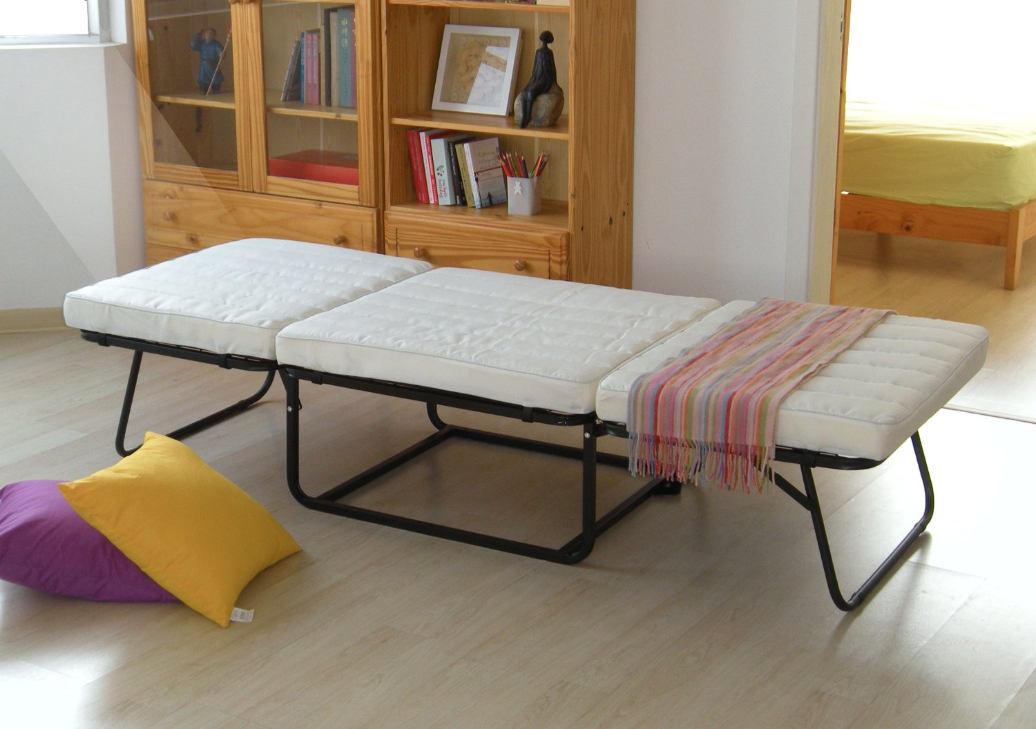 - Folding Ottoman Bed - Effort Less Mart